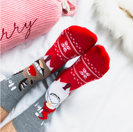 skarpetki świąteczne nie do pary