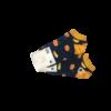 stopki damskie w pomarańcze