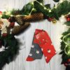 Świąteczne skarpetki męskie w Święte Mikołaje