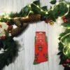 Zabawne męskie skarpetki świąteczne