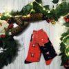 Świąteczne skarpetki męskie w renifery