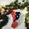 Świąteczne skarpetki damskie
