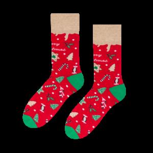 skarpetki świąteczne na prezent