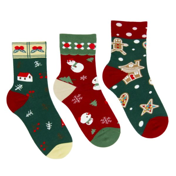 Skarpetki damskie na Boże Narodzenie