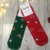 Świąteczne skarpetki damskie Mikołaj