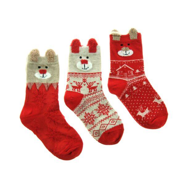 Skarpetki dziecięce na Święta
