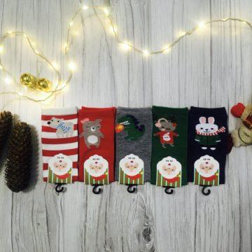 Świąteczne skarpetki dla dzieci