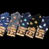 Kolorowe stopki męskie